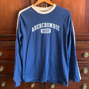 Men Large Abercrombie & Fitch long sleeve tee